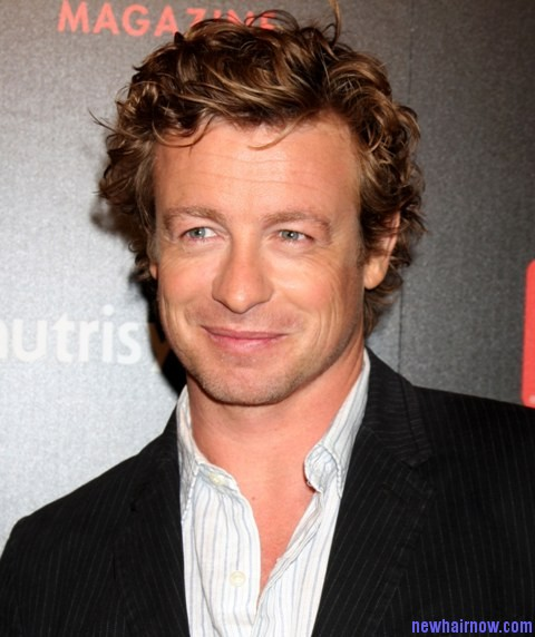 Simon Baker New Hairstyles New Hair Now