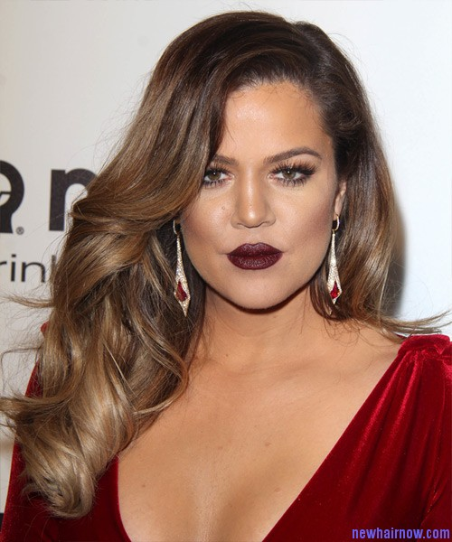 Khloe Kardashian with New Hairstyles  New Hair Now