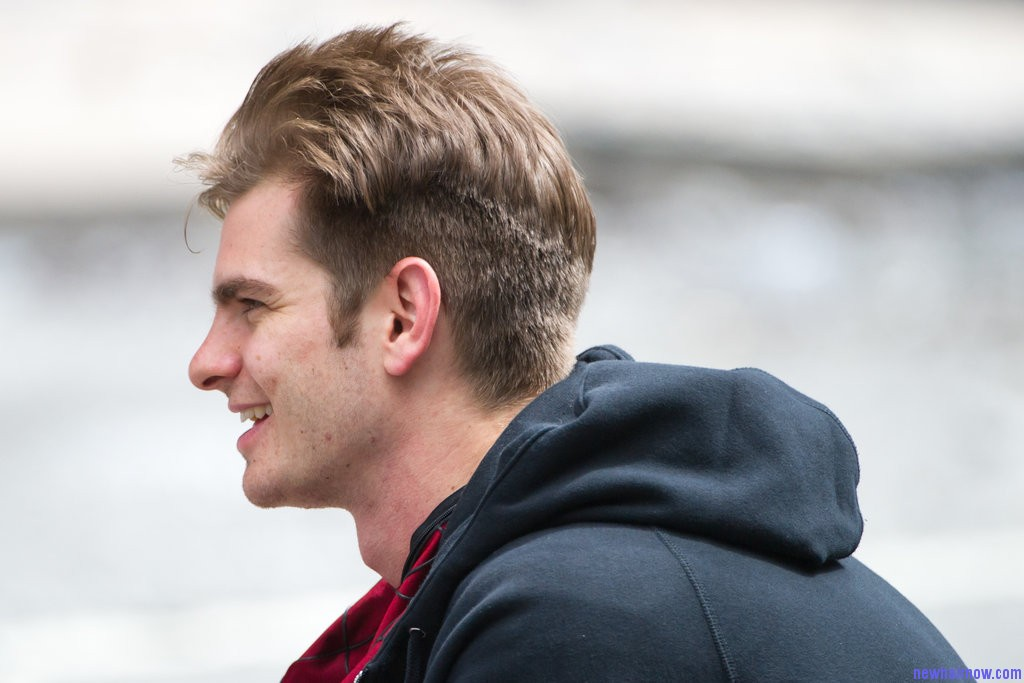 Latest Hair Styles For Boys In 2014 2: Andrew Garfield New Hair Styles