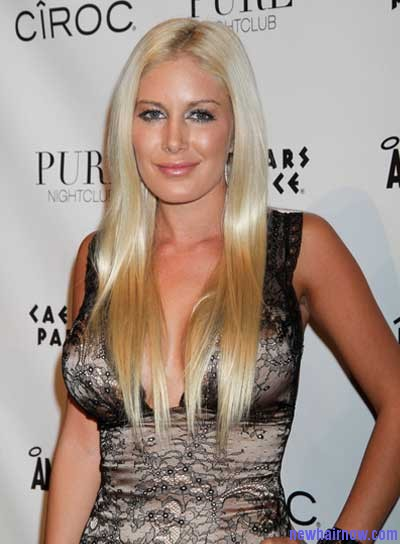 Heidi Montag New Hairstyles New Hair Now
