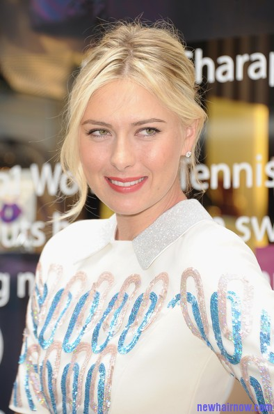 Maria Sharapova Long Blonde Hairstyle New Hair Now