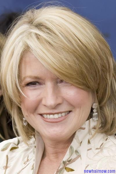 Martha Stewart New Hairstyle New Hair Now
