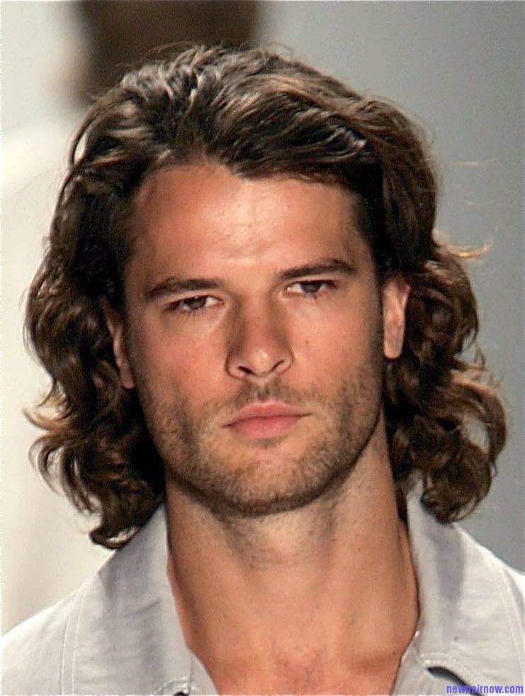 Фото мужских стрижек на длинных волосах