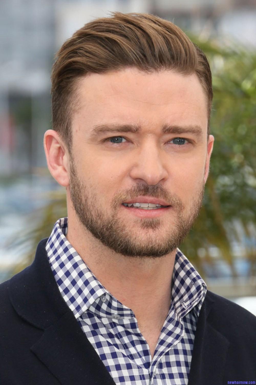 Justin Timberlake New Hair Now