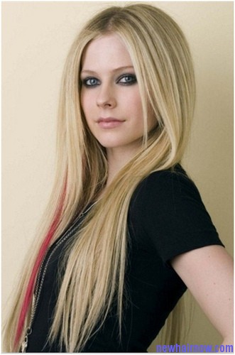 how to get avril lavigne hair