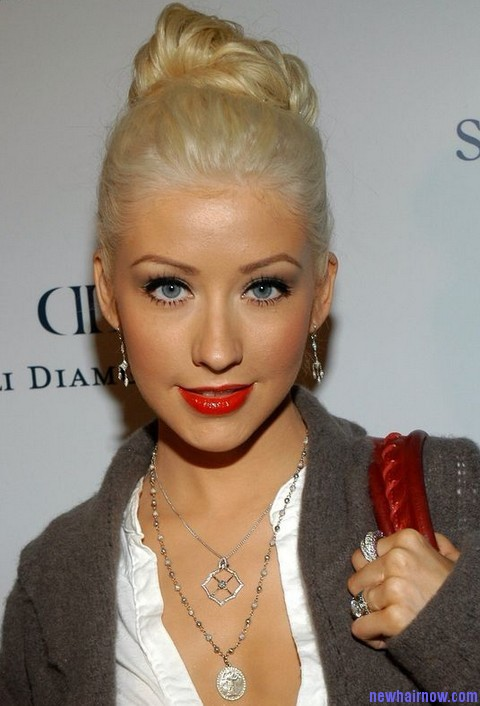 Christina Aguilera New Hairstyle New Hair Now