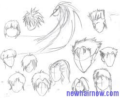 Outstanding Anime Hairstyles New Hair Now Hairstyles For Men Maxibearus