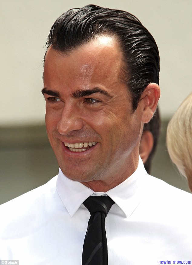 Justin Theroux Short Straight New Haircut New Hair Now