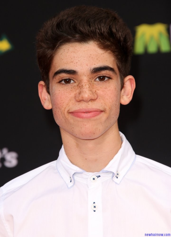 Cameron Boyce Short And Long Straight Hairstyle New Hair Now