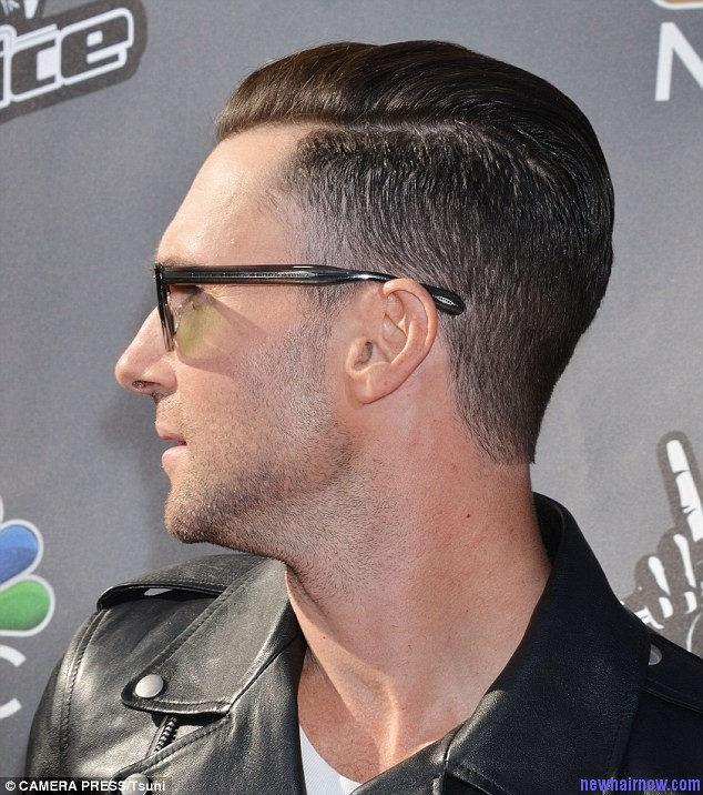 adam levine hairstyle � new hair now