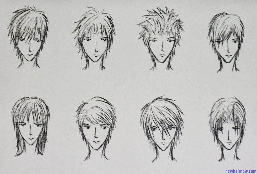 Boy's Anime Hairstyles