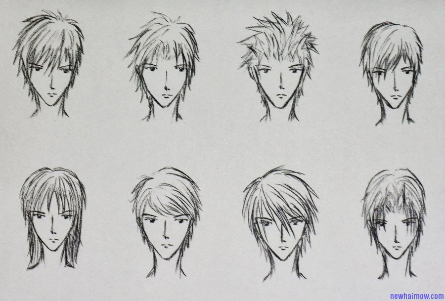 Incredible Boy39S Anime Hairstyles New Hair Now Hairstyles For Men Maxibearus