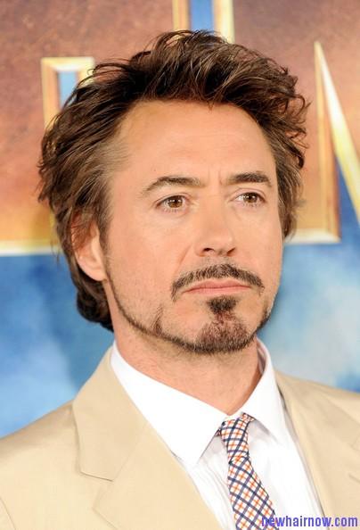 Robert Downey Jr Mustache
