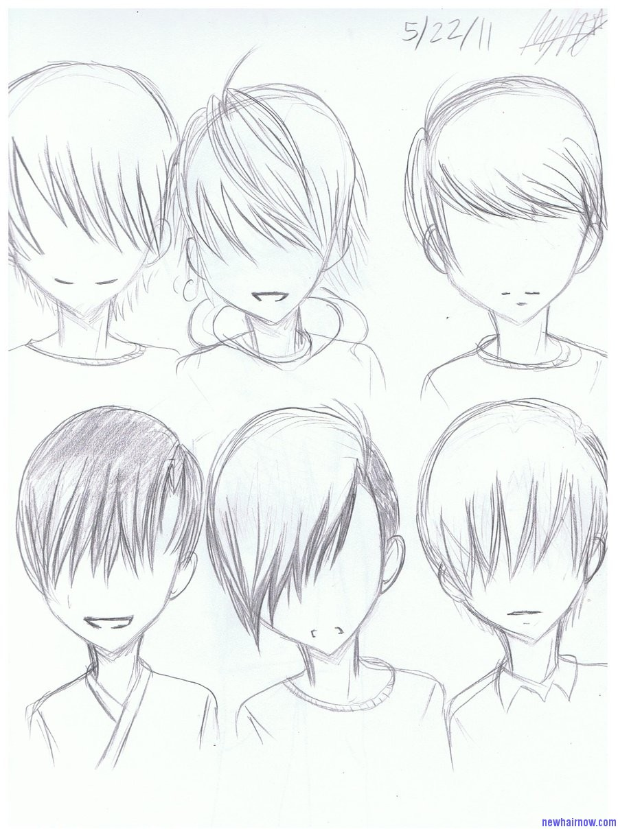 Boy S Anime Hairstyles New Hair Now
