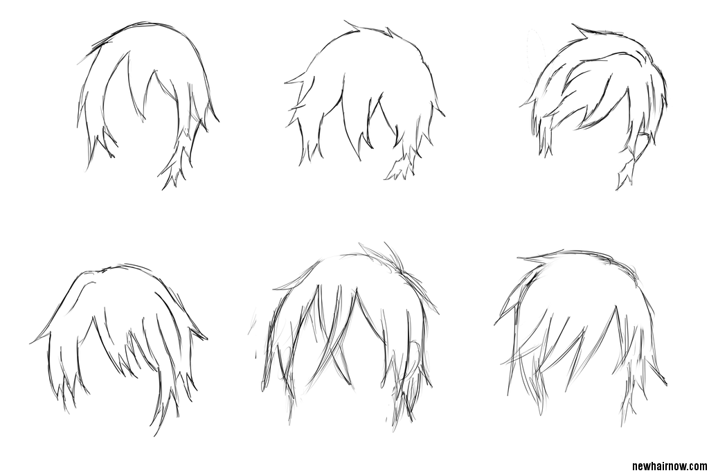 Boy's Anime Hairstyles
