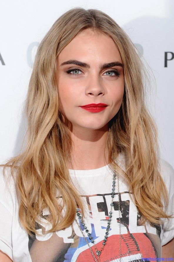 Cara Delevingne Dashing Hairstyle New Hair Now
