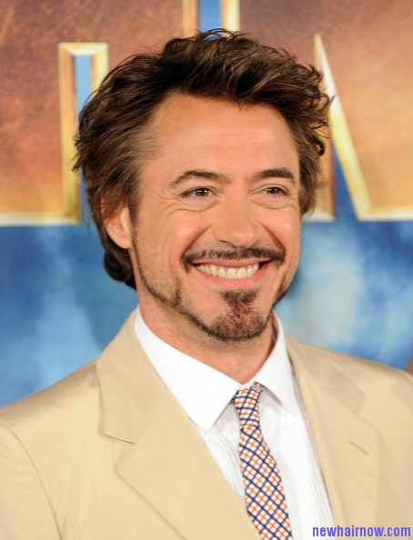 Robert Downey Jr Hairstyle New Hair Now