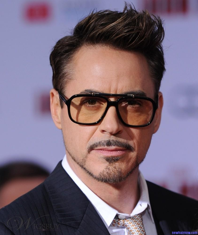 The Death Of Tony Stark Hairstyle Tony Stark Hairstyle Natural