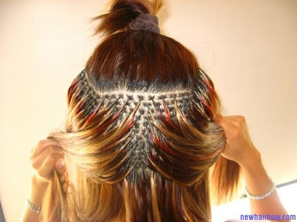 Причёски на нарощенные волосы в домашних условиях