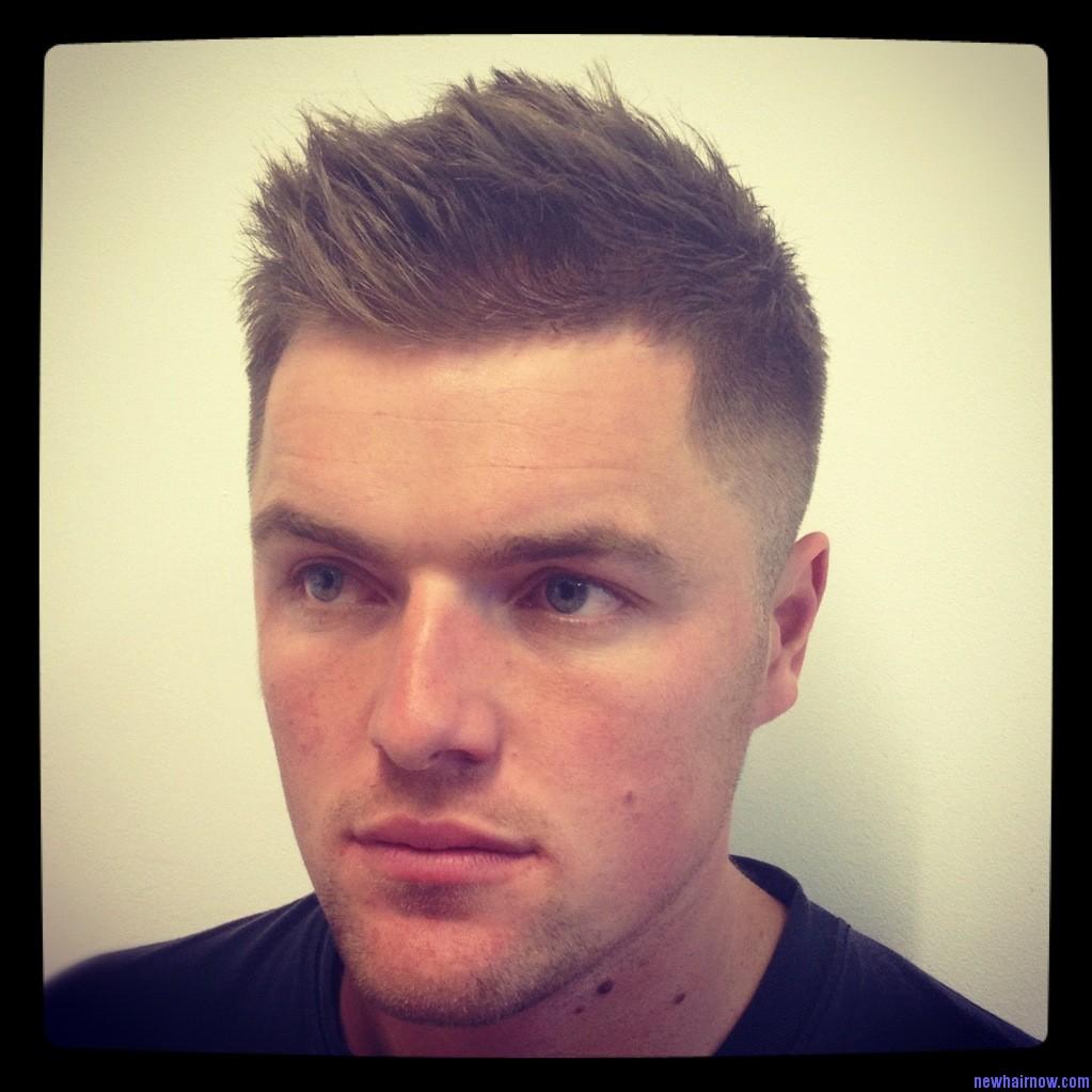 Мужские причёски для жестких волос