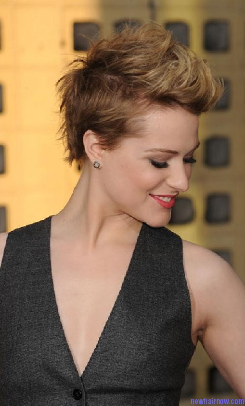 Movie stars short hair styles