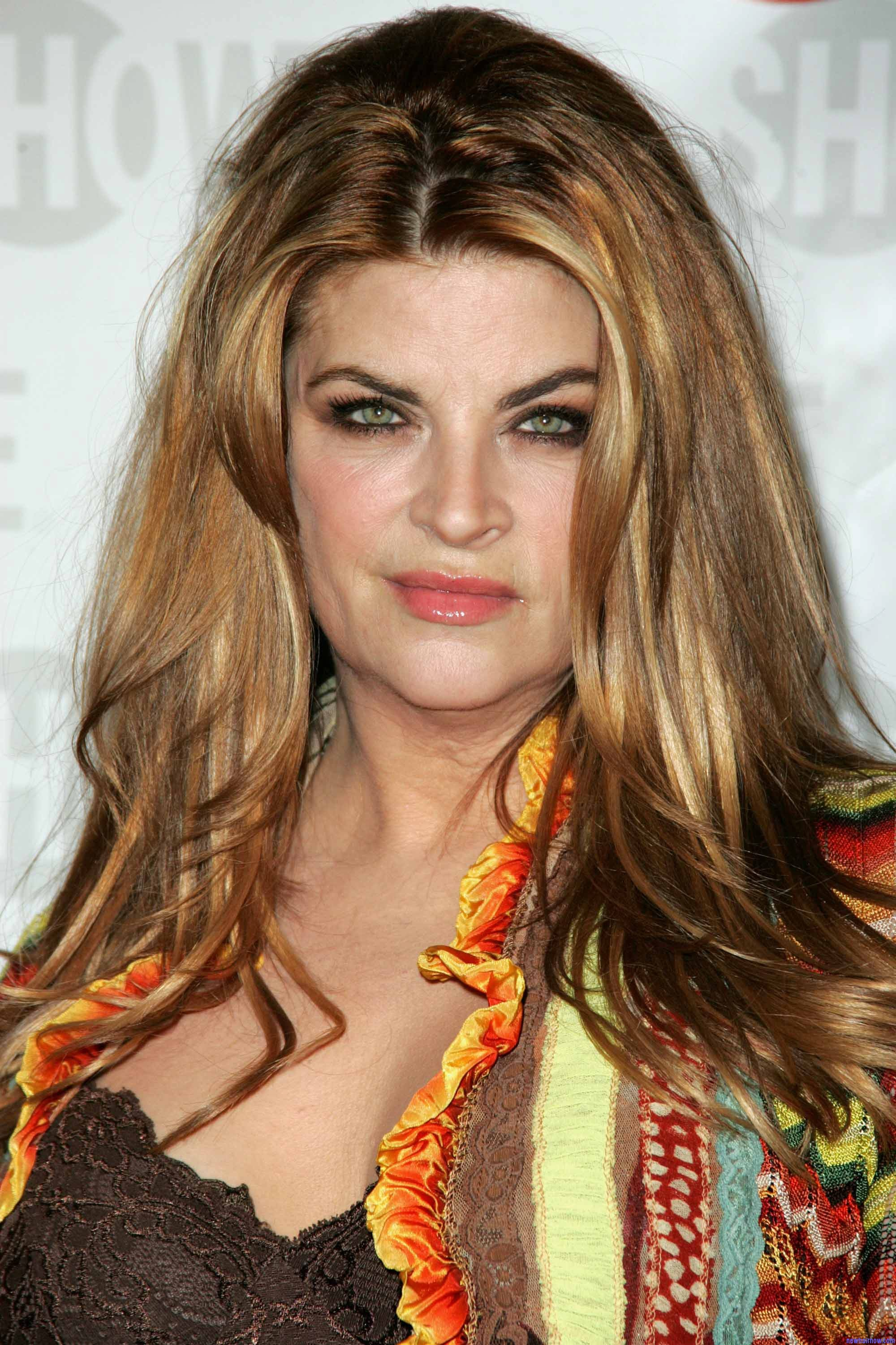 Kirstie Alley New Hair Now