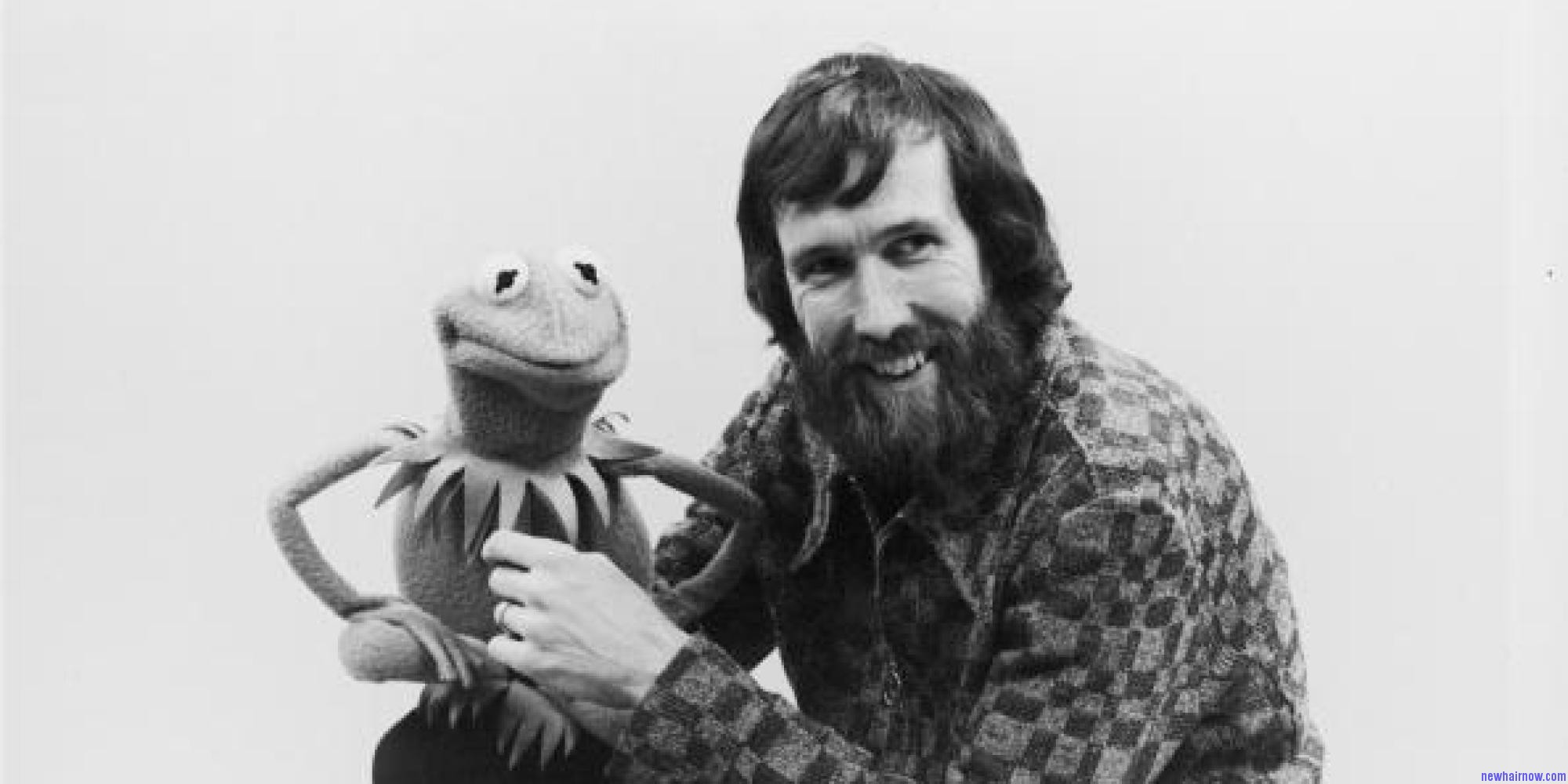 Portrait Of Jim Henson With Kermit The Frog