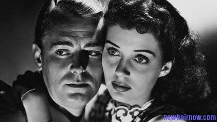 Alan Ladd and Gail Russell in Calcutta