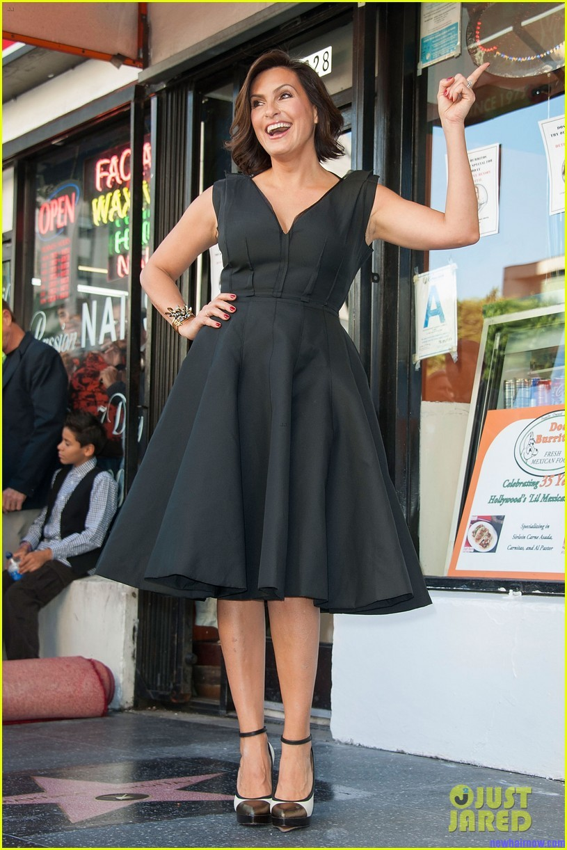 Mariska Hargitay Honored On The Hollywood Walk Of Fame