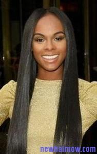 mineral oil straight hair