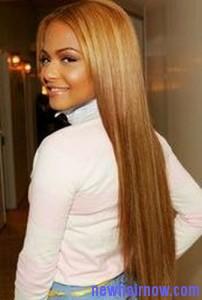 mineral oil straight hair4