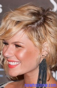 short hair waves8