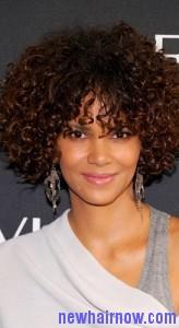 short bohemian curls