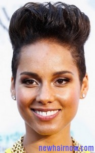 alicia keys frohawk