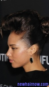 alicia keys frohawk4