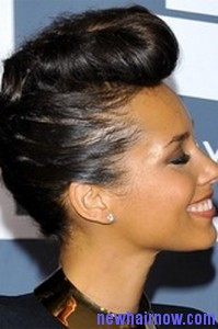 alicia keys frohawk5