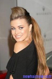high quiff ponytail2